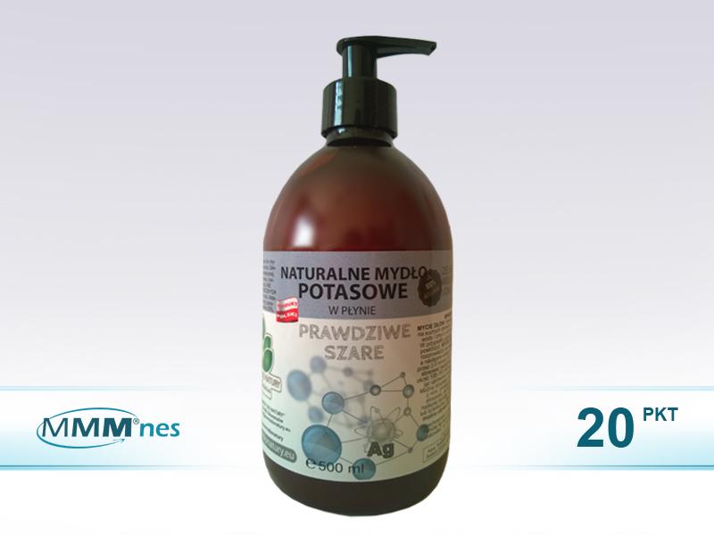 Naturalne mydło potasowe ze SREBREM