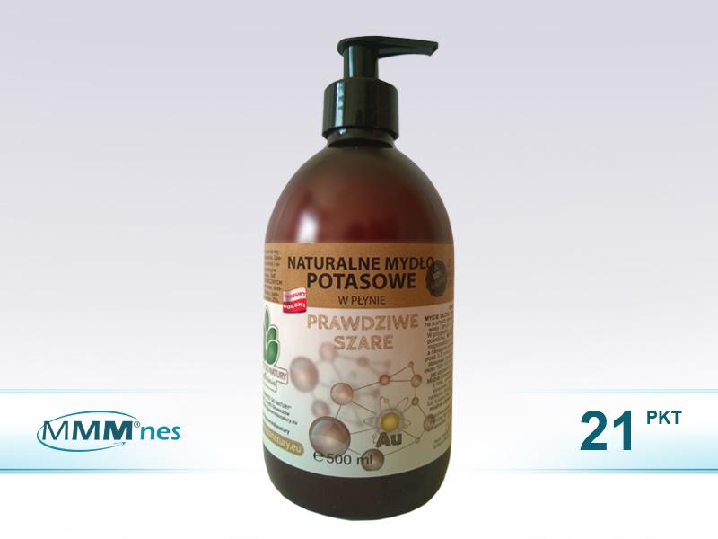 Naturalne mydło potasowe ze ZŁOTEM